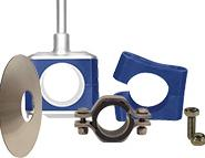 Tube Hangers & Wall Flanges